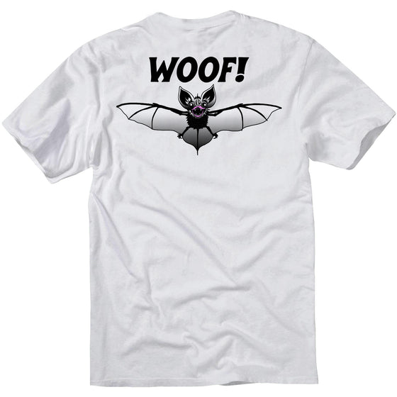 Batwoof T Shirt - white