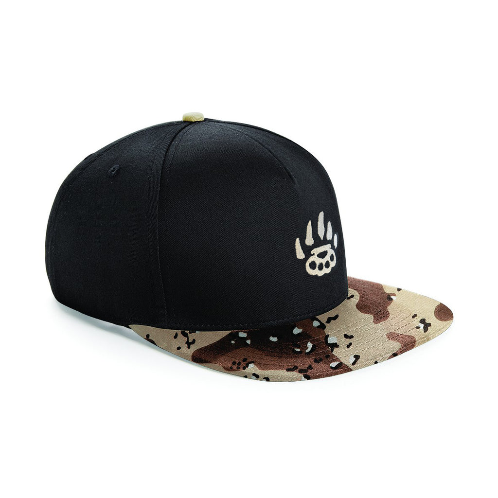 Snapback - Desert Camo Peak - Alternative Streetwear & Street Style from Bear Knuckle Brawlers
