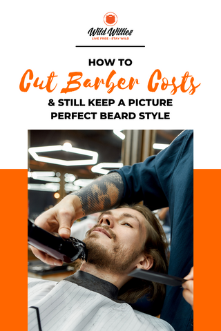 Man Getting His Facial Hair Trimmed By A Beard Barber | How To Cut Barber Costs | Beard Styles
