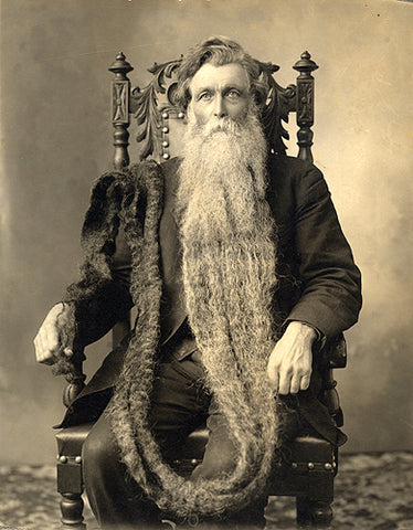 image of the worlds longest beard over 17 ft long