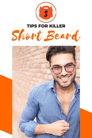 Bearded Man With Glasses   How To Make A Short Beard Look Awesome