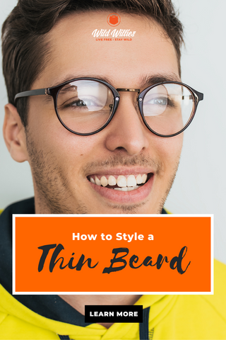 Man with short and thin beard | How to Style Thin Beards