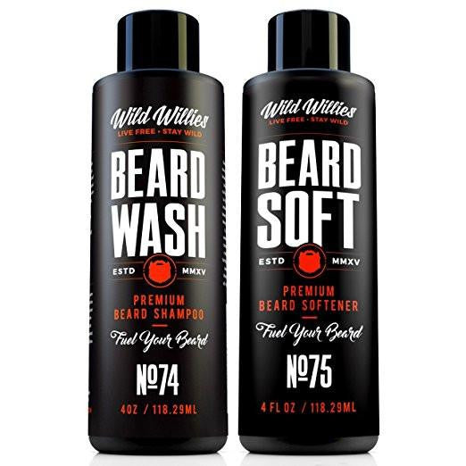 Wild Willies Beard Wash and Beard Soft Bundle