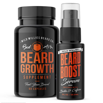 Beard Growth Kit (3 pack)