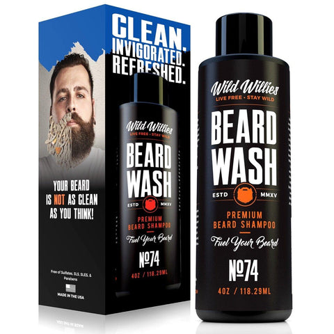 Wild Willies Beard Wash Shampoo