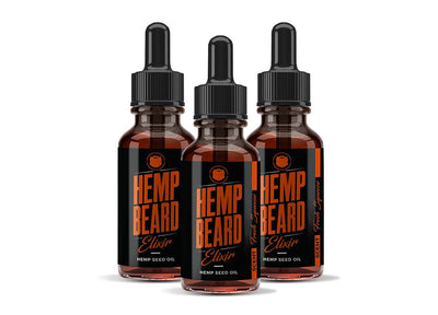 Hemp Beard Elixir - 3 Count