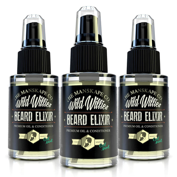 Beard Elixir Bundles - Cool Mint