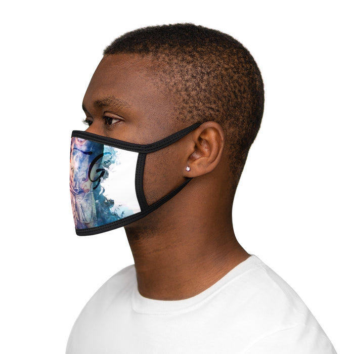 Jay T Finessa Mixed-Fabric Face Mask