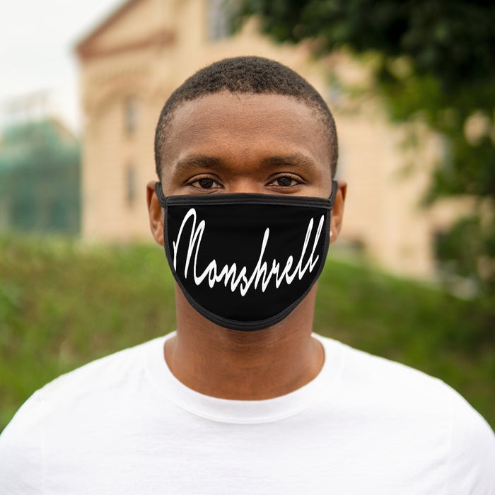 Monshrell Mixed-Fabric Face Mask