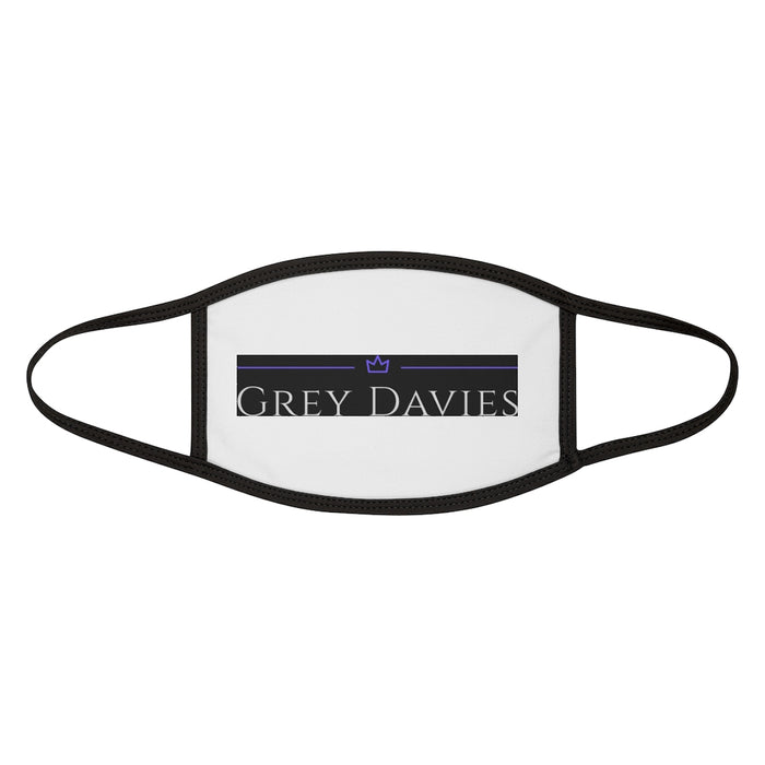 Grey Davies -Fabric Face Mask