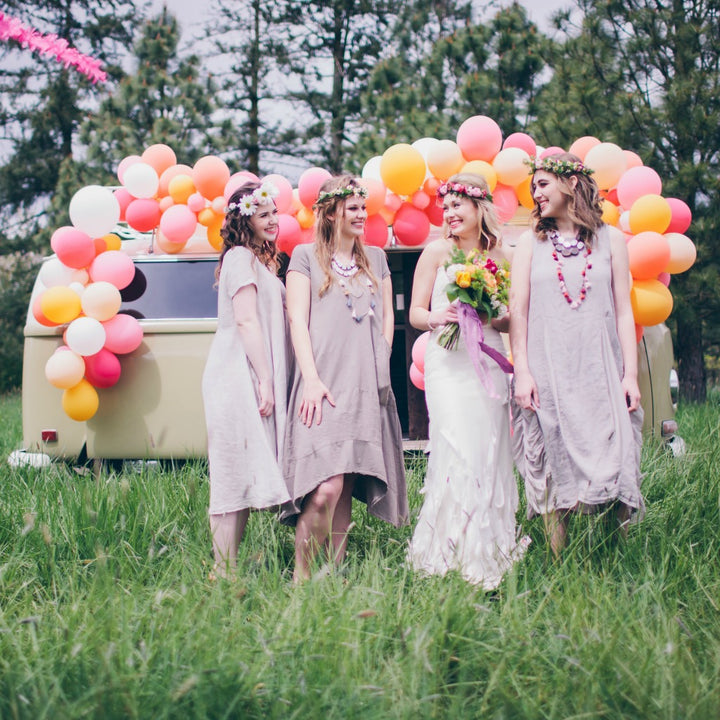 Bright & Bohemian Elopement