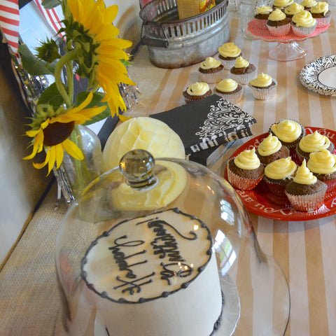 Rustic summer birthday party