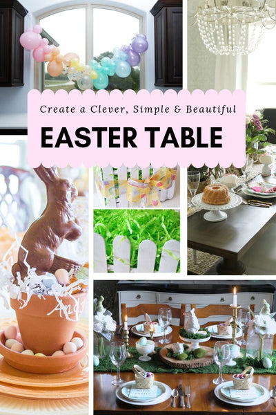 cleaver simple and beautiful easter table ideas