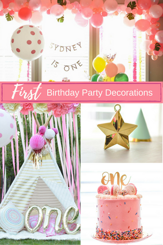 first birthday party blog image