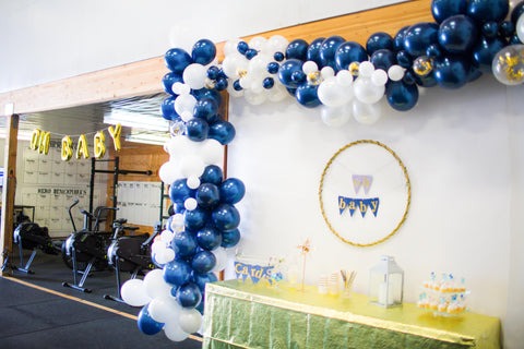 nautical balloon arch