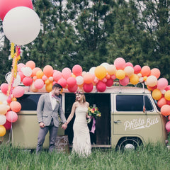 Boho VW Bus Wedding