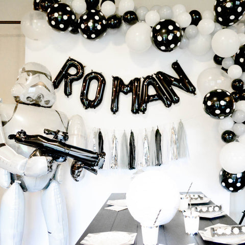 It Was A Lot Of Fun Creating These Special Star Wars Birthday Party Decorations Just For Him