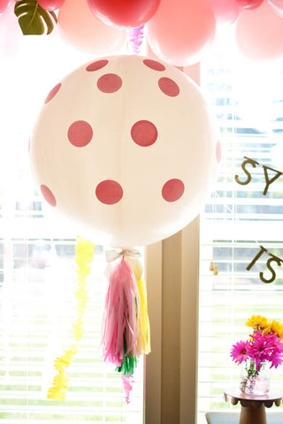 jumbo polka dot balloon