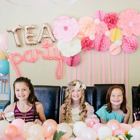 Tea Party Birthday Celebration