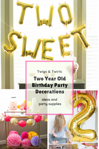two year old party
