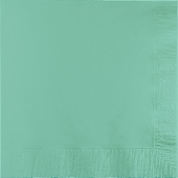 large light green napkins