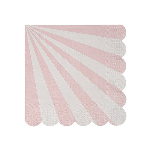 light pink paper napkins