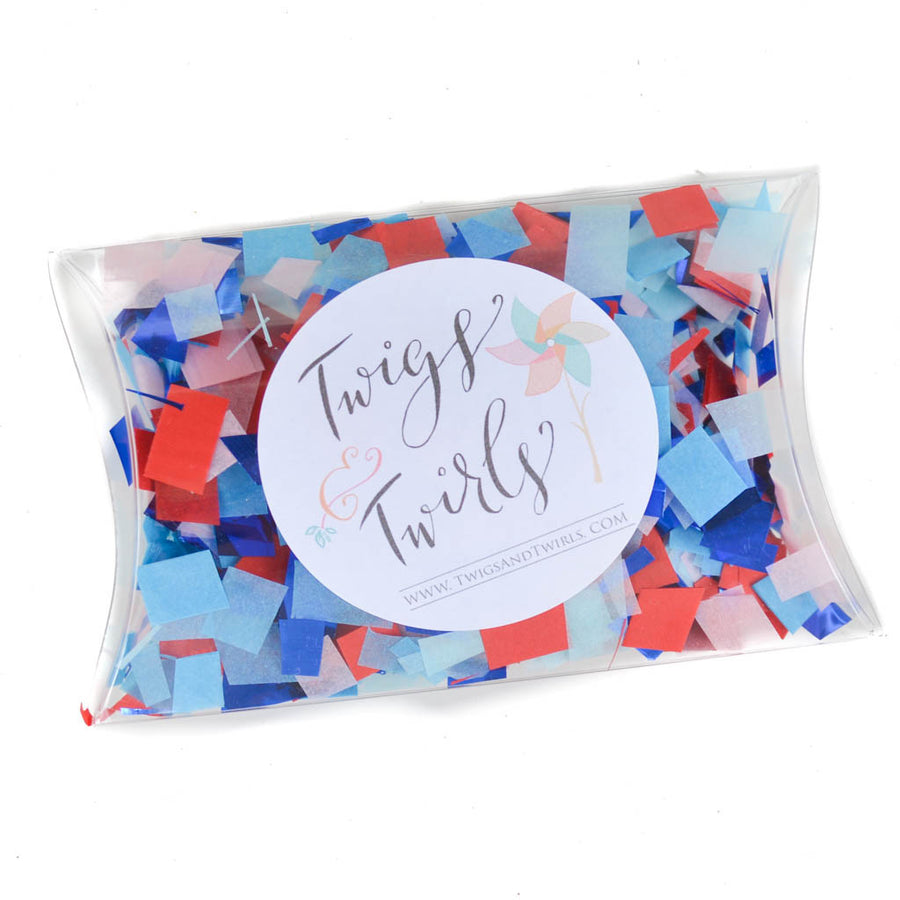 4th of july fireworks confetti