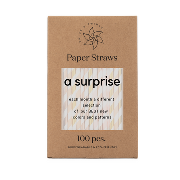 paper straw subscription