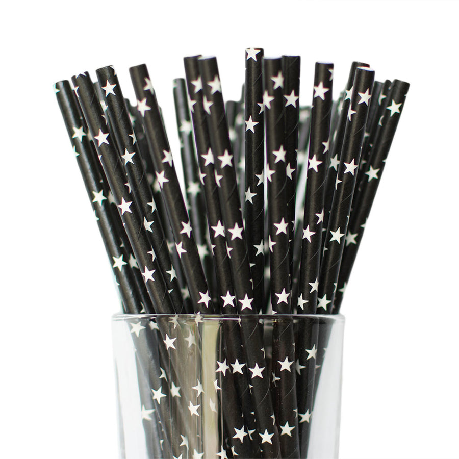black star straws