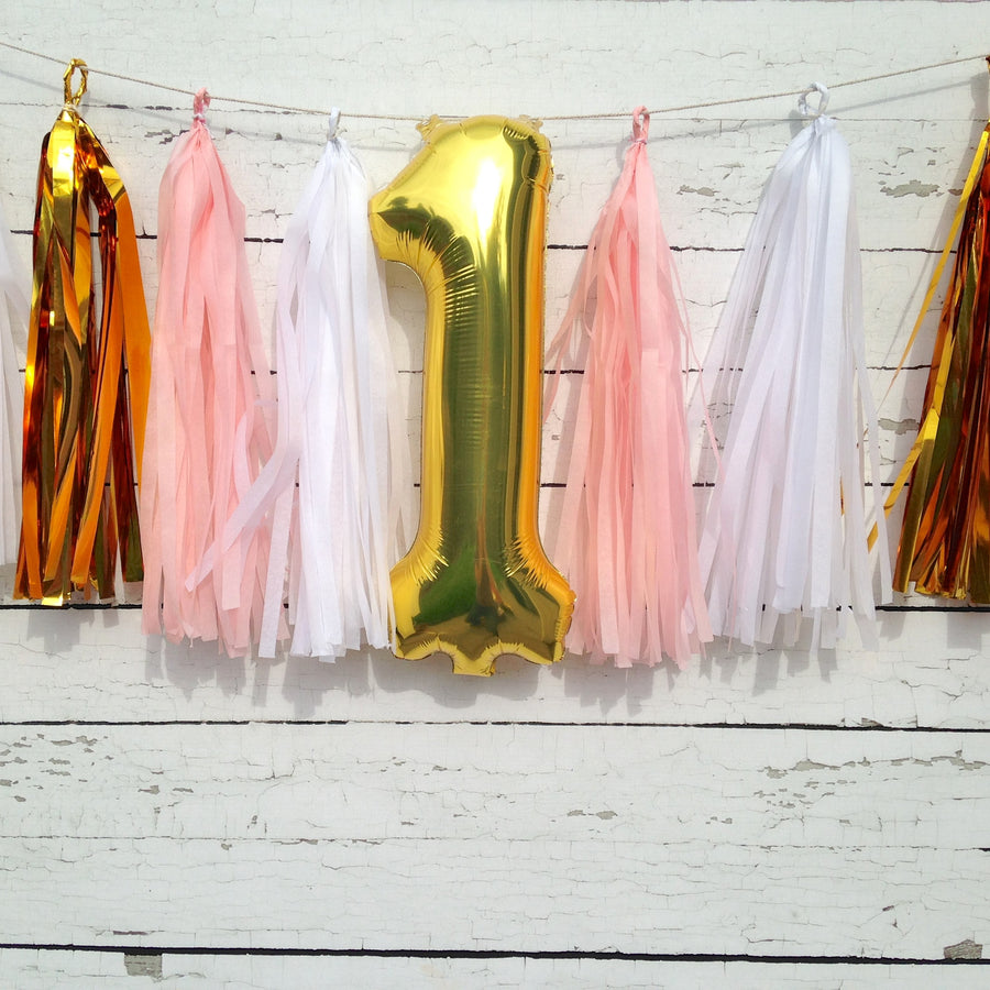 Birthday Number Garland Kit