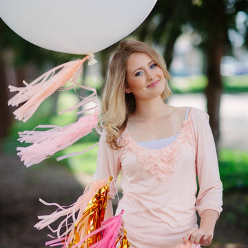 senior pictures balloon