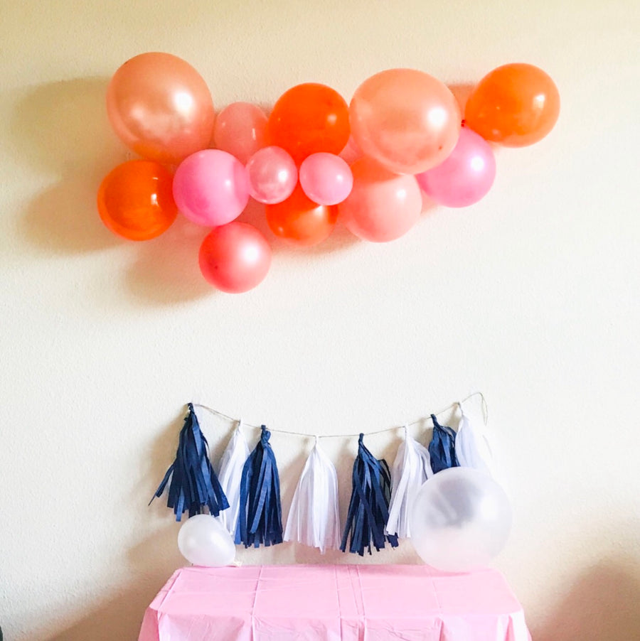 Balloon Garland Cluster