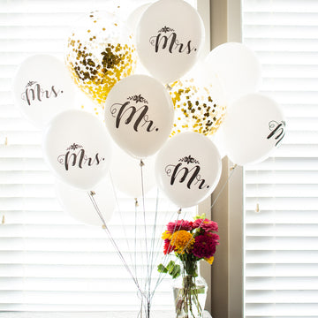wedding bouquet of balloons