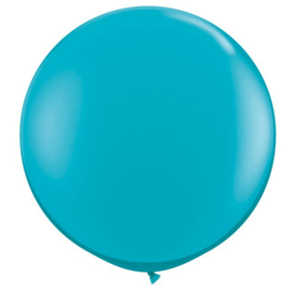 jumbo teal blue balloon