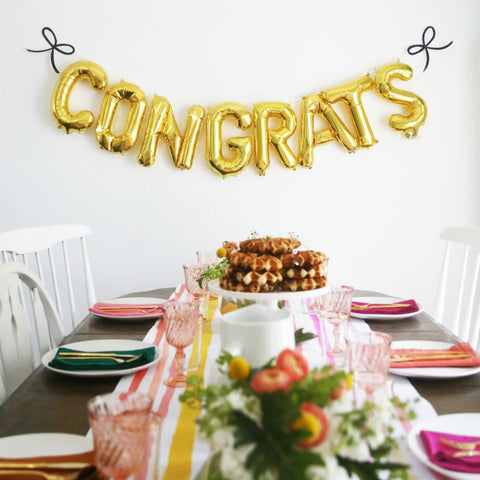 congratulations decor