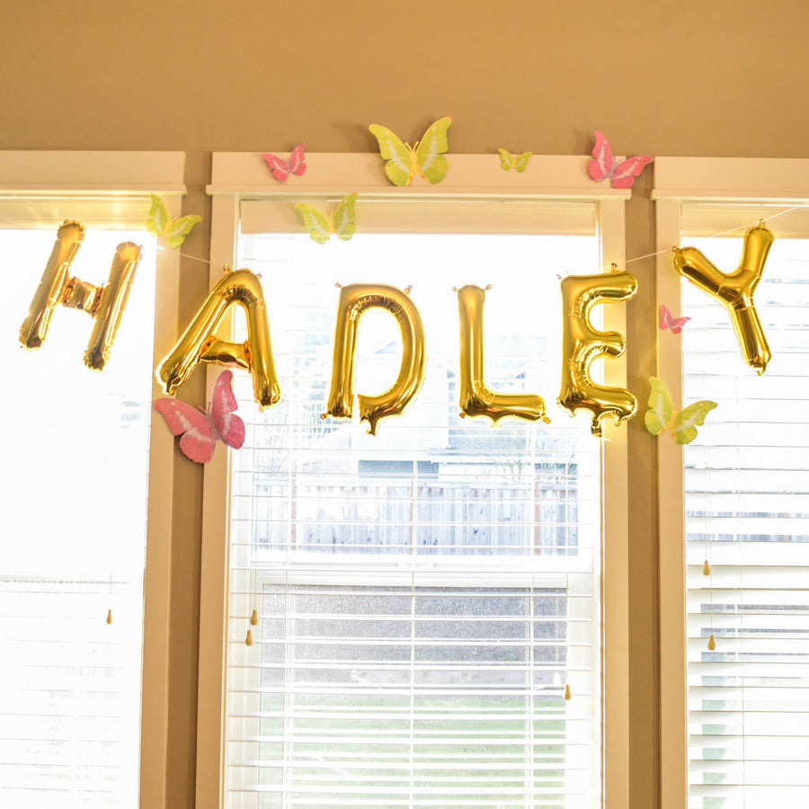 custom name balloons