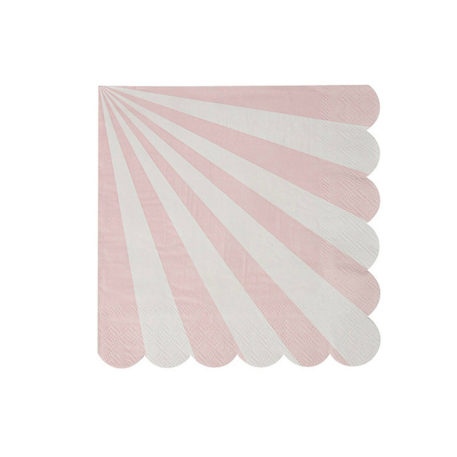 dusty rose pink paper napkins
