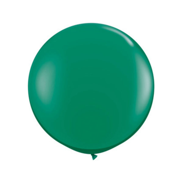 jumbo emerald green balloon