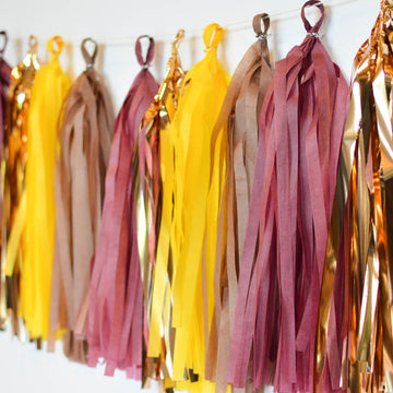 thanksgiving tassel garland