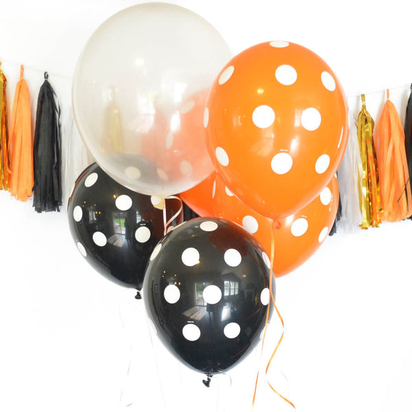 latex halloween balloons