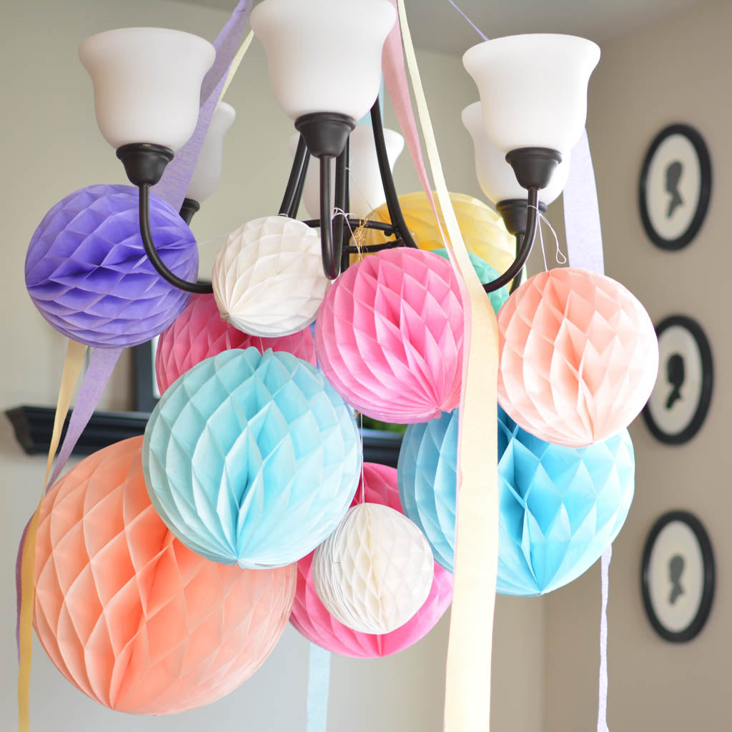 pastel honeycombs