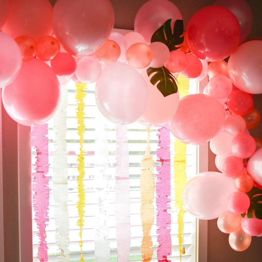 Balloon Arch Kit Pink Palm Tree