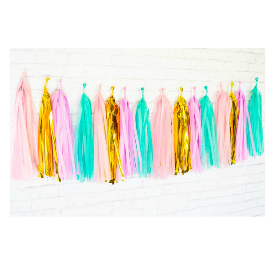 unicorn tassel garland