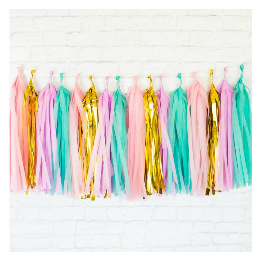 birthday tassel garlands