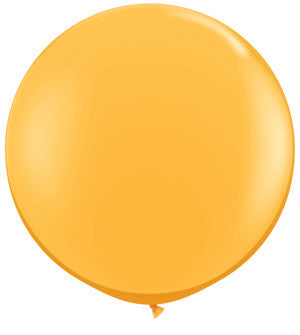 jumbo mustard orange balloon