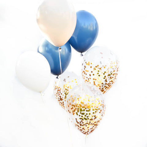 Navy Blue Balloon Bouquet
