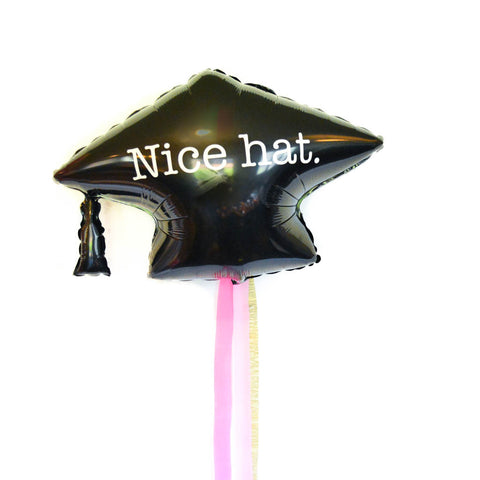 graduation hat balloon