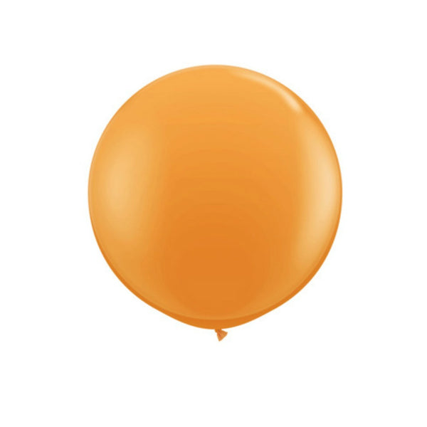 orange balloon giant