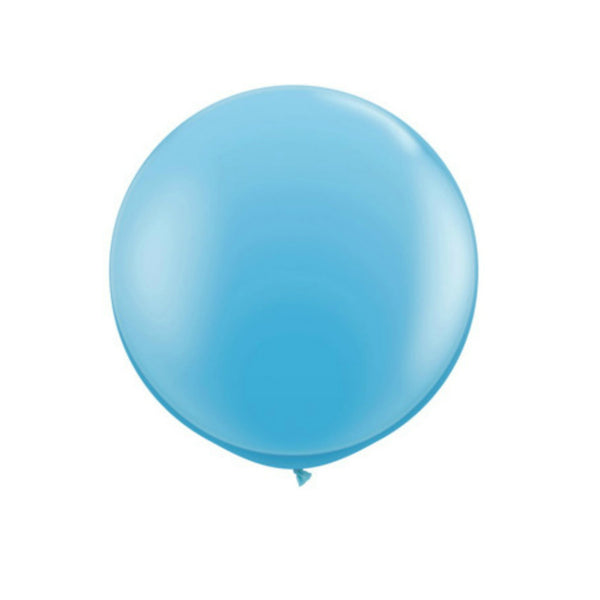 giant blue balloon