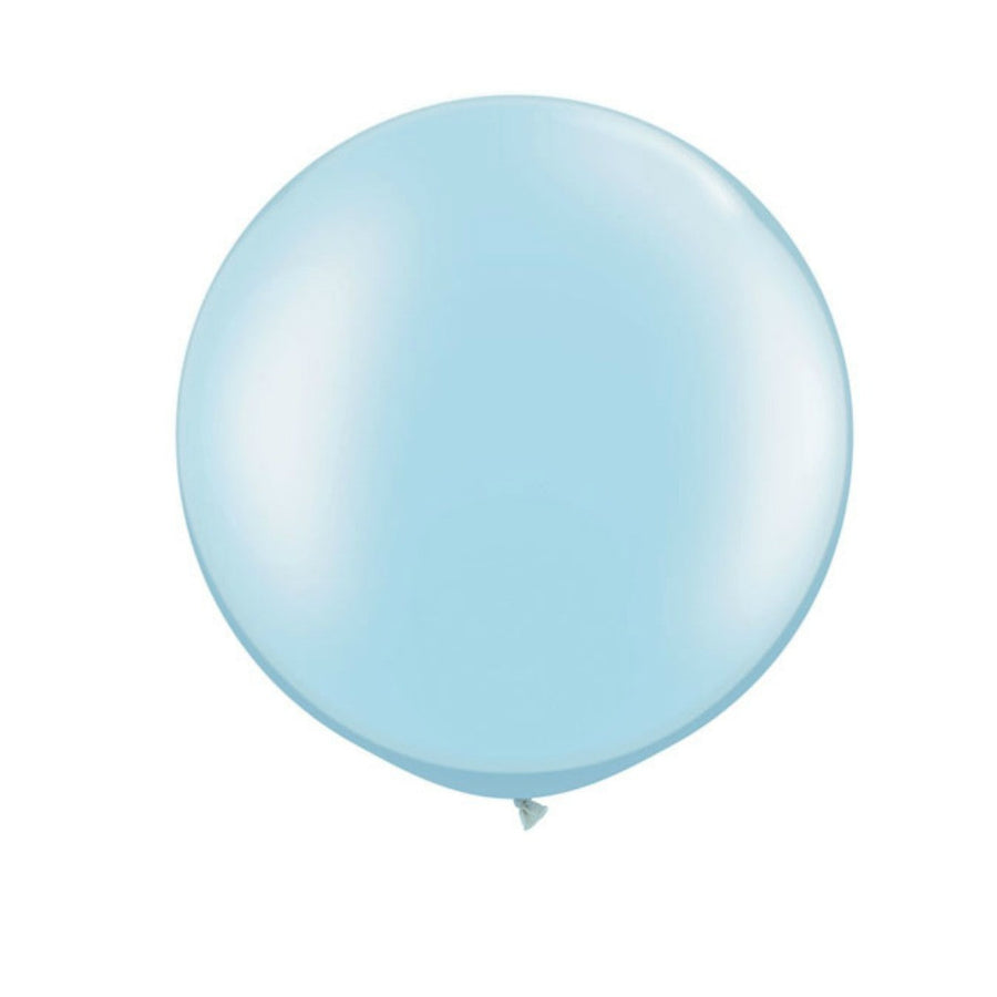 pastel blue balloon
